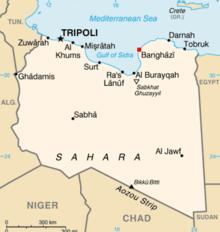 LEH Libyan European Hospital - Where is tripoli